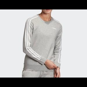 Adidas 3 stripes sweatshirt large